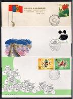 PR CHINA - CHINE / 1985 - 3 ENVELOPPES FDC (6649) - 1980-89