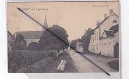 Demigny (71) La Rue Neuve - France