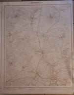 MESSANCY CARTE AU 1/10.000  71/4 - Andere Verzamelingen