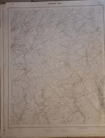 ANLIER CARTE AU 1/10.000  68/2 - Autres Collections
