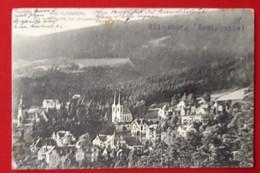 Świeradów-Zdrój   Bad Flinsberg   Die Kath Kirche Mit Umgebung - Schlesien