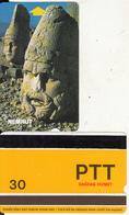 TURKEY - Nemrut Ruins(PTT-30 Units), Used - Turquie