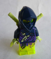 FIGURINE LEGO NINJAGO -   GHOST NINJA HACKLER - Mini Figure 2015 Légo - Figuren