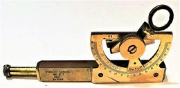 Clinometer Stanley MK III 1941 - Optics