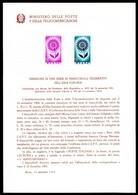 Italien Ministerblatt MiNr. 1164-65 Postfrisch MNH Cept 1964 (GF14363 - Italy