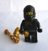 FIGURINE LEGO NINJAGO -   COLE DX - Mini Figure 2011 Légo - Figurines