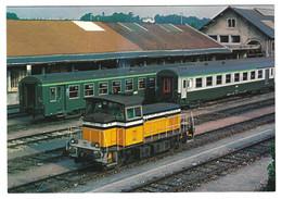 X08 - France - Shunting Locomotive Y-8000 - Gare De Périgueux - Trains