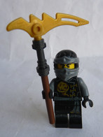FIGURINE LEGO NINJAGO -  COLE SKYBOUND  - Mini Figure 2016 Légo - Figurines