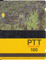 TURKEY - Rock Tombs/Dalyan-Mugla(PTT-100 Units), Used - Turquie