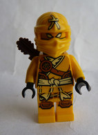 FIGURINE LEGO NINJAGO -  SKYLOR   - Mini Figure 2015 Manque Arbalète Légo - Figurines