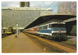 X08 - France - Locomotive CC-72071 - Paris-Montparnasse - Eisenbahnen