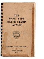 The Basic Type Meter Stamp Catalog   3 Ed 1959 - Meccanofilia