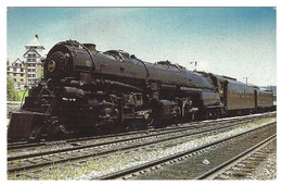 X08 - USA - Norfolk & Western - Steam Locomotive 1218 - Eisenbahnen