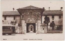 PAVIA - Entrata Alla Certosa. Con Tram. No Autobus Bus Pullman - Fp, Viaggiata - Pavia