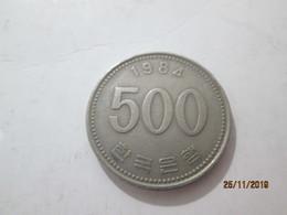 KOREA SOUTH 500 Won 1984  # 2 - Korea, South