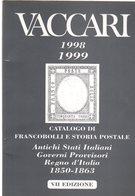 Vaccari 1998-1999 Catalogo Di Francobolli E Storia Postale - Vari