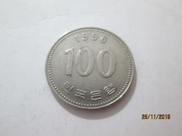KOREA SOUTH 100 Won 1996  # 2 - Korea, South