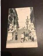 Blankenberge - Blankenberghe - Escalier De La Rue De L'Eglise - N° 122 - 1907 - Blankenberge