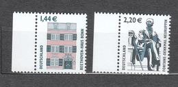 Deutschland BRD ** 2306-2307 Sehenswürdigkeiten  Bonn Neuruppin - [7] República Federal