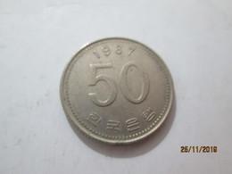 KOREA SOUTH 50 Won 1987  # 2 - Korea, South