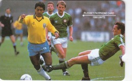 Brazil, BR-X12-05, 2EXHB, Plessey 1000 Units, GPT Test Card, Romario - Brasil VS Ireland, 2 Scans.   Deep Notch. - Brasilien
