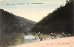 Paysage Dans La Vallée De Petit-Fays - Environs De Vresse (Hôtel De La Semois, Animée, Colorisée) - Vresse-sur-Semois