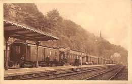 En Gare De Dinant (Collection Train Radio, Photo Achel Animée) - Dinant