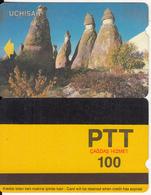 TURKEY - Uchisar(PTT-100 Units), Used - Turquie