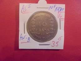 Albert 1er. 10 FRANCS 1930 VL POS.B  (A.3) - 1909-1934: Albert I