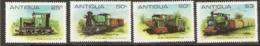 Antigua  1981  SG  681-4  Sugar Cane Railways    Unmounted  Mint - Antigua Y Barbuda (1981-...)