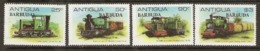 Barbuda  1981  SG  541-4 Sugar Cane Railways    Unmounted Mint - Antigua Y Barbuda (1981-...)