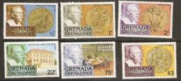 Grenada Grenadines  1978  SG 258-63 Nobel Prize Awards  Unmounted Mint - Grenada (1974-...)