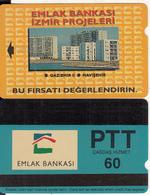 TURKEY - Emlak Bankasi/Izmir(PTT-60 Units), 04/94, Used - Turquie