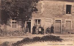 39- CPA  PONT D HERY L'école - Francia
