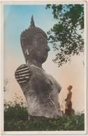 Asie :  LAOS : Province  Du  Vientiane, Grand  Bouddha  De  Bronze - Laos