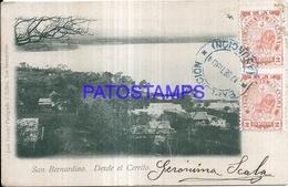 124754 PARAGUAY SAN BERNARDINO DESDE EL CERRITO VISTA PARCIAL  POSTAL POSTCARD - Paraguay