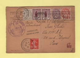 Carte Commemorative - Congres De Versailles Mairie De St Avold Lorraine - Gaspiller C Est Trahir Economiser C Est Servir - Poststempel (Briefe)