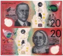 AUSTRALIA, 20 DOLLARS, 2019, Pick New, POLYMER, UNC - Emissioni Della Banca Governativa 1910