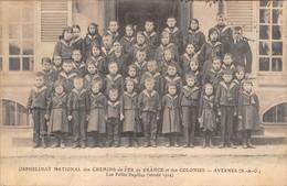 95 - CPA  AVERNES Orphelinat National Des Chemins De Fer France Et Des Colonies - Avernes