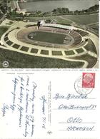 Germany 1956 Pictoral Color Card, Hannover - Niedersachsen Stadion, Cancelled 7-5-56 - BRD
