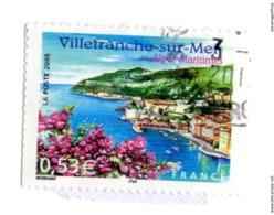 3802 Villefranche-sur-Mer (Alpes-Maritimes). Illustration De La Baie Et Des Monts Alban Et Boron Patrimoine - Paysage - - Frankreich