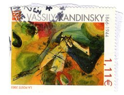 3585 Wassily Kandinsky (1866-1944), Peintre D'origine Russe Arts - œuvre - Tableau - Peinture - Abstrait - - Frankreich