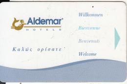 GREECE - Aldemar, Hotel Keycard, Used - Hotelkarten