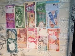 COLLECTION DE 10BANKNOTES UNC..... - Bankbiljetten