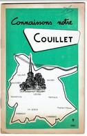 1962 - Connaissons Notre Couillet - Publicités, ... Horaires Des Tramways STIC 24 Pages + Plan - 4 Scans - Dépliants Touristiques