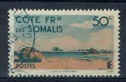 French Somali Coast, 50c., Khor-Angar, 1947, VFU - Used Stamps