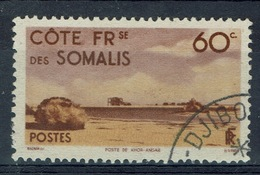 French Somali Coast, 60c., Khor-Angar, 1947, VFU - Costa Francesa De Somalia (1894-1967)