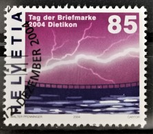 2004 Tag Der Briefmarke ET-Stempel MiNr: 1896 - Suisse