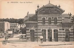 92 Meudon Gare Du Val Fleuri Chemin De Fer De L' Ouest - Meudon