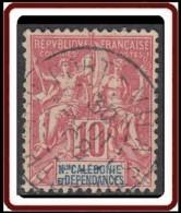 Nouvelle Calédonie 1892-1902 - Port-Vila / Nouvelles Hébrides Sur N° 60 (YT) N° 54 (AM). Oblitération De 1908. - Nueva Caledonia